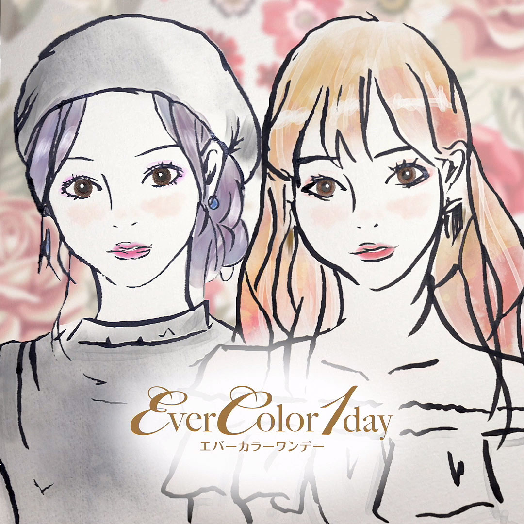 EverColor1day instagram広告